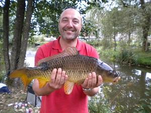 Olivier des Crazy fischers de Mouscro. 300